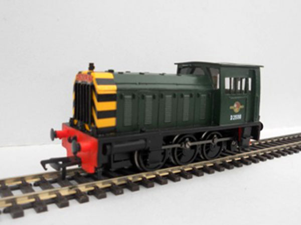 Class 05 Hunslet Shunter green wasp stripes