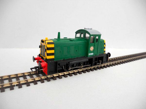BR Class 07 Shunter Green