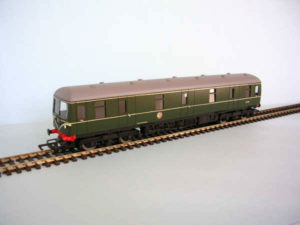 Class 129 Cravens Parcel Unit Green