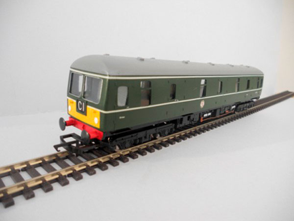 Class 129 Parcels Unit Green Small Panel