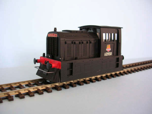 D2950 Hunslet 0-4-0 Docks Shunter