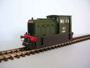 D2950 Hunslet Dock Shunter Green