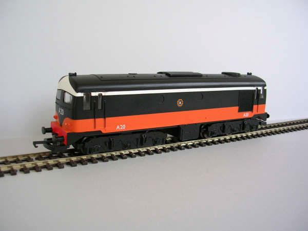 IR/IE A Class Black over Orange