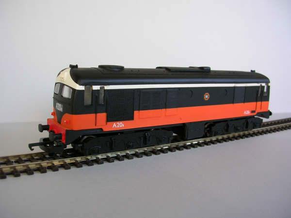 IR/IE A Class Black over Orange Rebuilt