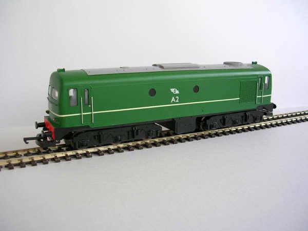 IR/IE A Class Green