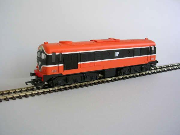 IR/IE 001 Class Orange, Black Band White Lining