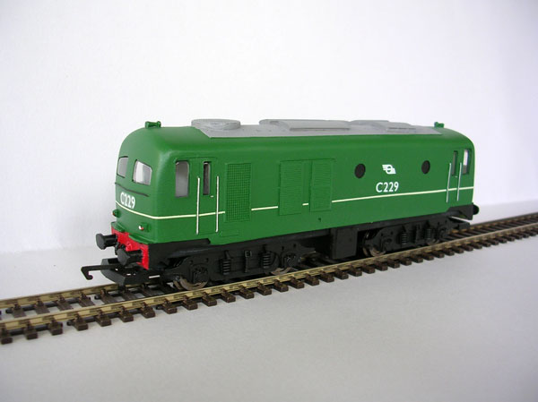 Irish Railways IR / IE C Class Green