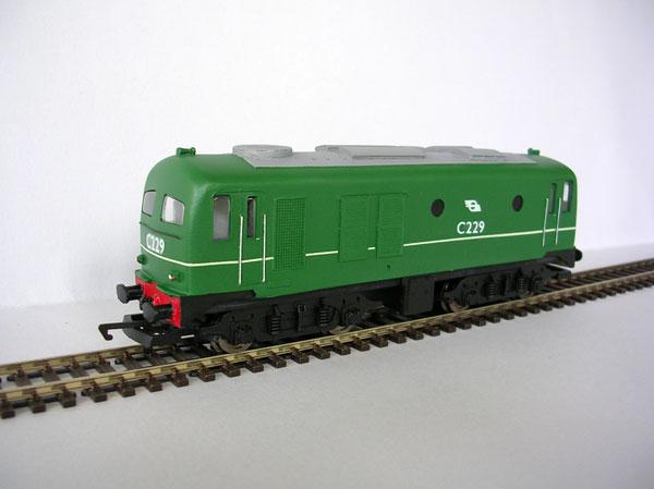 Irish Railways IR / IE C Class Green