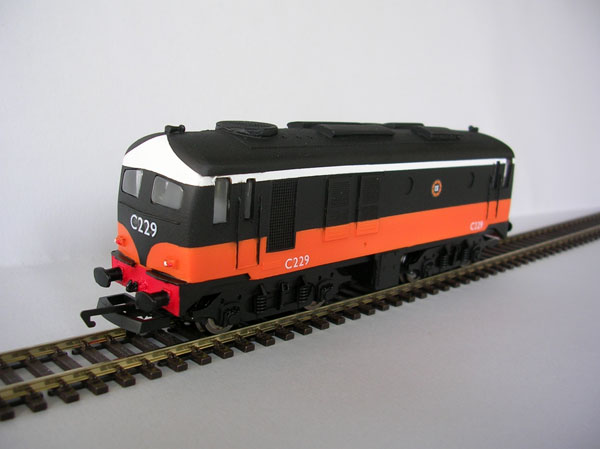 IR / IE C Class Black over Orange