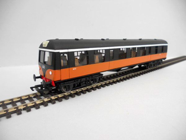 IR/IE Pushpull Trailer Car Black over Orange early