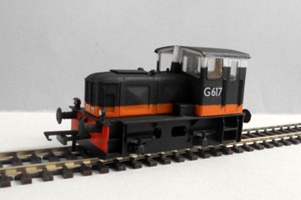 IR / IE 601 Class Black over Orange