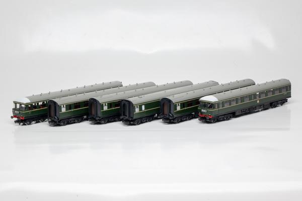 BR Clas 124 Green