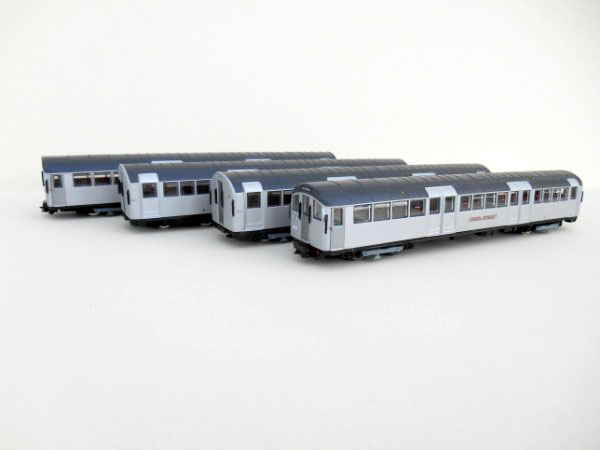 London Underground Metro Cammell 1959/1962 Stock silver