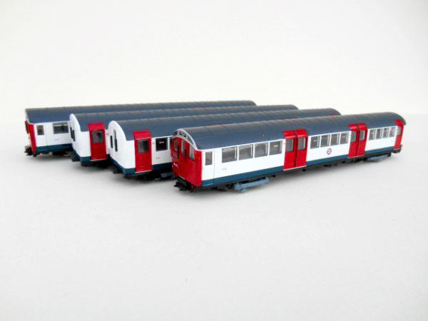 London Underground Metro Cammell 1959/1962 Stock red, white & blue